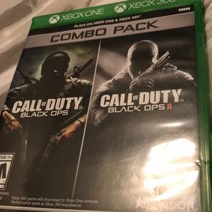 Call of Duty Black Ops I & II Combo 4 Xbox 1 + 360